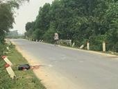 HY HỮU Nam thanh niên thiệt mạng sau khi đâm vào  trâu