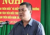 Ký nhiều văn bản, giấy tờ sai quy định, Phó Chủ tịch UBND TP Tuy Hòa bị kỷ luật