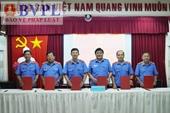 Cụm thi đua VKSND các tỉnh Tây Nam Bộ ký kết giao ước thi đua năm 2019