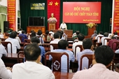 Kiện toàn chức danh Phó Bí thư Thường trực Tỉnh ủy Quảng Trị