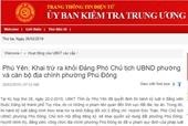 Phú Yên trảm nhiều cán bộ, đảng viên sai phạm trong quản lý đất đai
