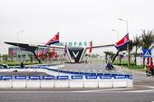 Hải Phòng và Quảng Ninh trang trí cờ hoa chờ đón ai
