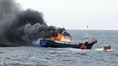 Tìm thấy thi thể 2 nạn nhân trong vụ tàu cá phát nổ ở Phú Quốc