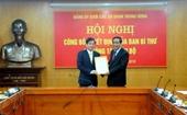 Ban Bí thư chỉ định Phó Bí thư Đảng ủy Khối cơ quan Trung ương