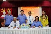 VKSND và TAND thành phố Cần Thơ tổ chức Lễ ký kết Quy chế phối hợp
