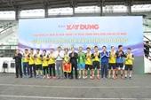 Báo Bảo vệ pháp luật giành giải Nhì Giải giao lưu bóng đá Xây dựng mở rộng 2019