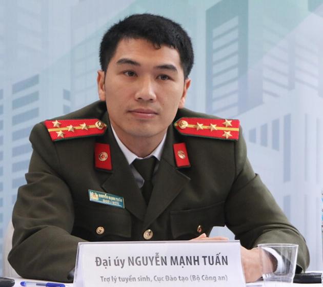 Đại úy Nguyễn Mạnh Tuấn