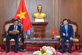 Đẩy mạnh hơn sự hợp tác giữa Viện kiểm sát tối cao hai nước Việt Nam - Cuba