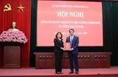 Giám đốc Sở KH ĐT giữ chức Phó Chủ tịch tỉnh Sơn La
