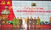 Đại tá Lê Ngọc Châu làm Giám đốc Công an TP Hải Phòng