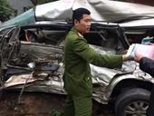 Vụ xe Innova chở 8 người bị đâm nát bét Tài xế xe tải dương tính với ma túy