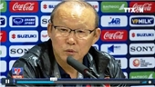 Họp báo sau trận đấu U23 Việt Nam – U23 Indonesia