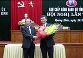 Quảng Bình có tân Phó Bí thư Tỉnh ủy