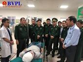 Truy bắt tội phạm ma túy người Lào, một chiến sĩ biên phòng bị thương
