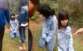 Lại xuất hiện Clip nữ sinh ở Nghệ An bị bạn tát dằn mặt , bắt quỳ xin lỗi