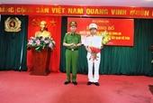 Thiếu tướng Vũ Xuân Dung giữ chức Cục trưởng Cảnh sát QLHC về TTXH