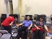 """Tuổi trẻ VKSND huyện Bát Xát tham gia """"Ngày hội Xuân hồng"""" hiến máu nhân đạo"""