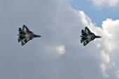Hình ảnh chưa từng công bố của siêu chiến đấu cơ Su-57 trên bầu trời Syria