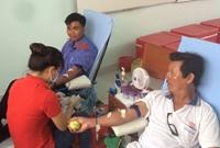 Chi đoàn Viện kiểm sát tích cực tham gia phong trào hiến máu tình nguyện