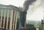 Cháy siêu thị điện tử Trần Anh ở Thanh Hóa