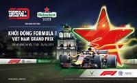 Khởi động giải đua công thức 1 đầu tiên tại Hà Nội