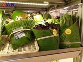 Độc đáo dùng lá chuối đóng gói thực phẩm thay túi nylon