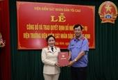VKSND tỉnh Bắc Ninh có tân nữ Viện trưởng