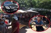 Toàn cảnh vụ xe Lexus biển 6666 lao vào đoàn người lễ tang ở Quy Nhơn