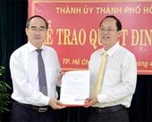Ông Nguyễn Hồ Hải làm Trưởng Ban Tổ chức Thành ủy Thành phố Hồ Chí Minh