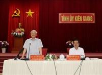 Tổng Bí thư, Chủ tịch nước Kiên Giang cần phát huy mạnh mẽ và hiệu quả tiềm năng, thế mạnh