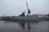 Hải quân Nga tiếp nhận tàu khu trục hiện đại chưa từng có