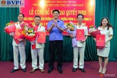 VKSND tỉnh Thừa thiên - Huế điều động, bổ nhiệm lãnh đạo cấp Phòng