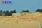 Phạt doanh nghiệp trộm cát hơn 100 triệu đồng