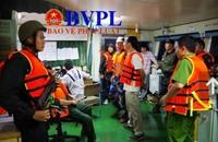 Phát hiện một vụ buôn lậu xăng dầu cực lớn ở vùng biển Quảng Ngãi