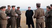 Chủ tịch Kim Jong-un chỉ đạo Quân đội Triều Tiên thử vũ khí mới