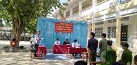 Tổ chức Phiên tòa giả định về ma túy cho học sinh
