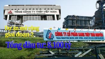 Bắt 5 cựu sếp lớn Tổng Công ty Thép Việt Nam và Công ty thép Thái Nguyên