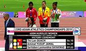 Quách Thị Lan đoạt HC vàng điền kinh châu Á