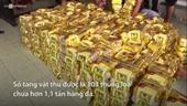 9 vụ buôn bán, vận chuyển ma túy khủng bị bắt từ đầu năm đến nay