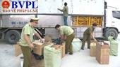 Phát hiện xe tải vận chuyển 19 000 bao thuốc lá nhập lậu