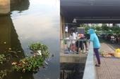 Thi thể người phụ nữ tử vong bí ẩn nổi trên sông Sài Gòn