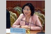 Nữ Thứ trưởng Bộ Xây dựng nghỉ hưu từ ngày 1 5