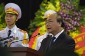 Thủ tướng Chính phủ đọc Lời điếu tại Lễ truy điệu đồng chí Lê Đức Anh