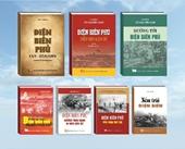 """Ra mắt bộ sách """"65 năm Chiến thắng Điện Biên Phủ - Mốc vàng chói lọi"""""""