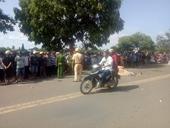 Bị xe tải tông mạnh từ phía sau, người đàn ông tử vong tại chỗ