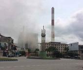 Nhà máy Nhiệt điện Uông Bí phát tán tro bụi ra môi trường là do sự cố