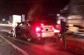 Cảnh sát giao thông tử nạn sau vụ đâm xe khách kinh hoàng