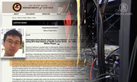Mỹ kiện một tin tặc Trung Quốc đánh cắp dữ liệu gần 80 triệu người