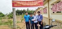 Công đoàn Viện kiểm sát phối hợp thực hiện công trình Nông thôn mới