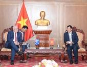 Lãnh đạo VKSND tối cao tiếp Đại sứ Australia tại Việt Nam